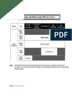 Jadwal Test Per Jan - Maret 2012