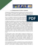Informe Desapariciones en Guatemala