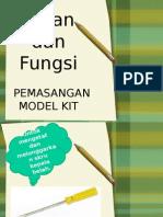 Alatan Tangan Model Kit