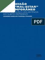 A  DEPRESSÃO COMO MAL ESTAR CONTEMPORANEO  Livro Leandro Anselmo.pdf