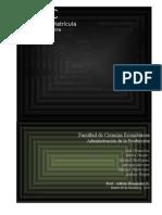 Proyecto Final - DMAIC Matrícula ULATINA