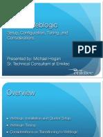 Weblogic Overview Presentation