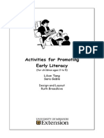 Activities for Promoting EarlyLiteracy