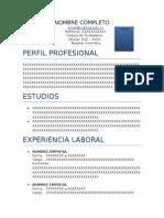 FI-CPP-09 - Formato HV Estudiantes