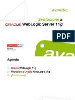 Webinar Evolucionar a Weblogic
