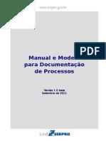 Manual e Modelo - Documentacao de Processos-Serpro