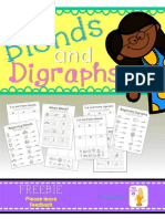 Blends and Di Graphs Freebie
