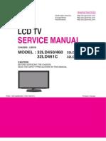 Manual tecnico de servicio LG LCD