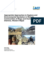 Appropriate Approaches to Hygiene and Environmental Sanitation in Western Nepal_0