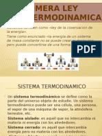 1 ley de la termodinamica