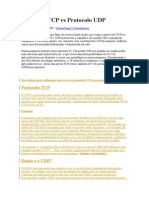 Protocolo TCP vs Protocolo UDP