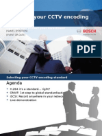 CCTV systems Encoding Standards and ONVIF