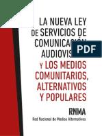 Libro La Nueva Ley de Servicios de Comunicación Audiovisual - Octubre2013