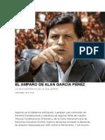 El Amparo de Alan García Pérez