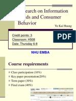 第一週與第二週上課PPT-Consumer Behavior 1