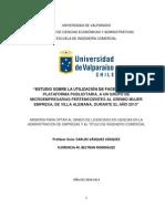 Estudio Sobre La Utilización de Facebook Como Plataforma Publicitaria, A Un Grupo de Microempresarias Pertenecientes Al Gremio Mujer Empresa, De Villa Alemana, Durante El Año 2013