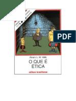 Coleção Primeiros Passos - O Que é Ética - Álvaro L M Valls