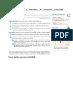 Procedimiento Para Tramites de Documentos UDO