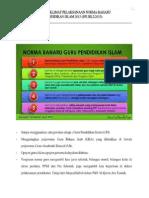 Norma Baharu Guru Pendidikan Islam