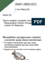 GEOGRAFI (B6D1E2) Pengangkutan Lestari