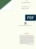 Analisis Gramatical Del Discurso