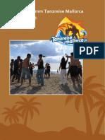 Programmheft Tanzreise 09.-16.Mai 2015