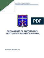 Reglamento de Créditos IPM FFAA