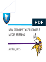 Vikings Stadium Ticket Plans