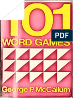 101 Word Games