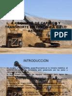4-Equipos de Carguío y Transporte en Minería Cielo Abierto