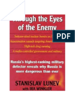 Lunev - Through the Eyes of the Enemy - Russia's Highest Ranking Military Defector Reveals Why Russia is More Dangerous Than Ever (1998)
