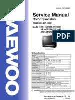 Color Television DTM-21U7K SERVICE PARTS