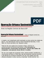 Operação Urbana Sustentável