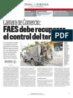 EDH - Camara de Comercio FAES Debe Recuperar El Control
