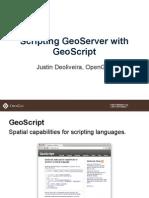 Scripting GeoServer