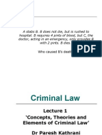 Theories undermining criminal law lob