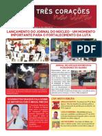Jornal Três Corações na luta - Maio/2015