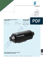 Eberspacher D5LC Technical Manual