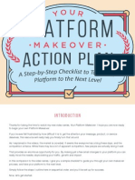 Platform University - Your Platform Makeover Action Plan