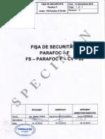 Fisa de Securitate Parafoc-F-specimen