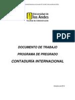 Pre Grado Encon Tad Uri a Internacional