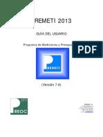 Guía Del Usuario PREMETI 2013v7.6