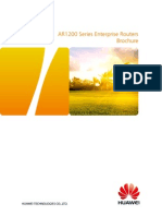 HUAWEI AR1200 Series Enterprise Routers Datasheet.pdf