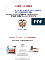 16B. Charla Decreto 1443 de 2015 - ACOPI Enero 18 de 2014