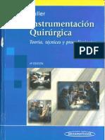 Portada -- Instrumentacion Quirurgica -- Fuller -- Cuarta Edicion