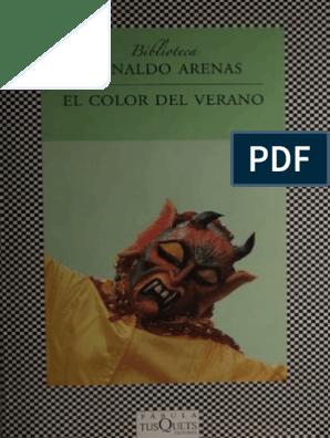 El Color Del Verano Reinaldo Arenas Cuba