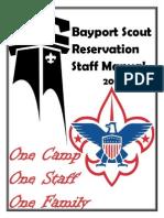 bsr staff manual 2015