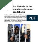 La Trágica Historia de Las Migraciones Forzadas en El Capitalismo