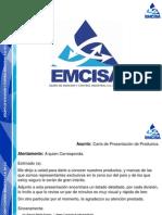 Curriculum Emcisa Rev. 1.1