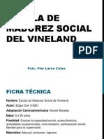 Escala de Madurez Social Del Vineland